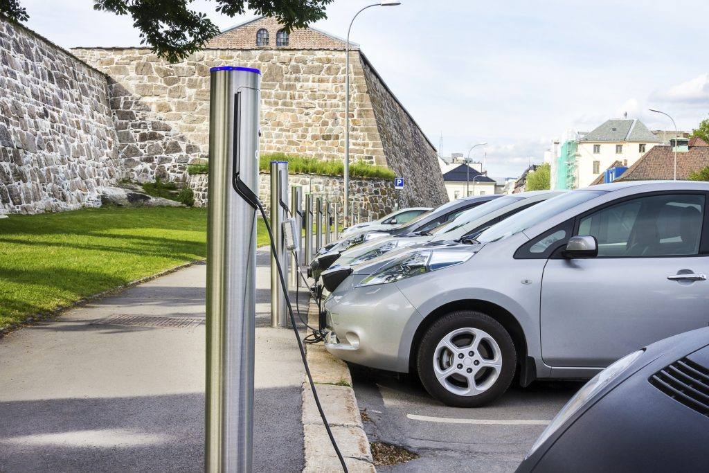 Multiple charge points